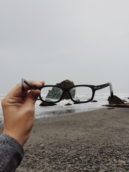 glasses-beach